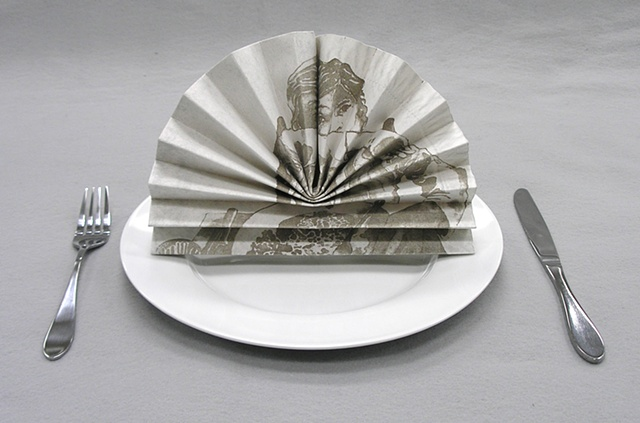 Fancy Napkin Fan