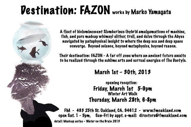 Destination: FAZON (March 2013)