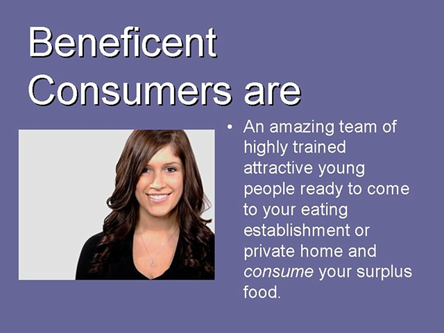 Beneficent Consumers