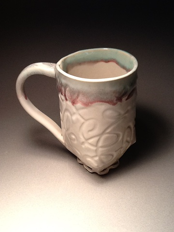 This mug will hold a large amount of coffee tea or any favorite beverage