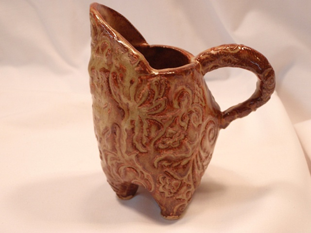 Small textured pitcher