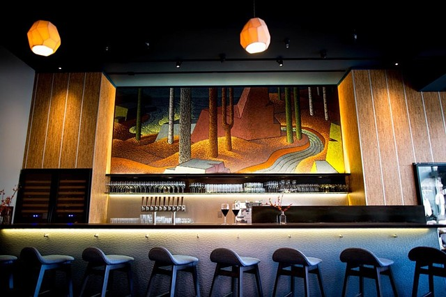 Zephyr Wine Bar features Ancient Coast.