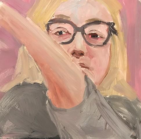 Self Portrait as Painter
