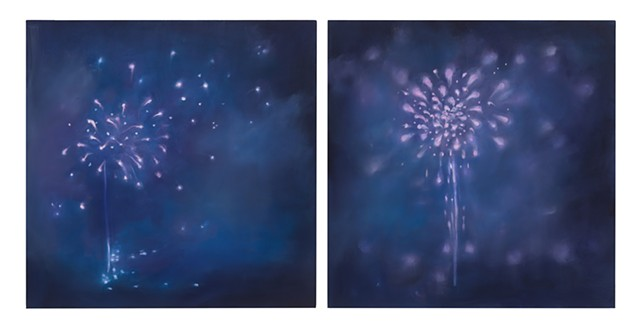 Fourth of July (diptych)
