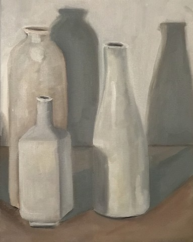 Grey Days (Thinking about Morandi)