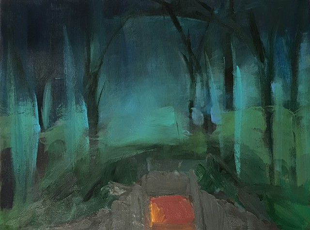 Cave in the Forrest