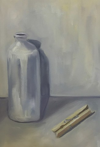 Jug and Clothes Pin