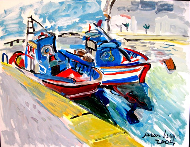 Fishing Boats, Tavira, Portugal, 2004