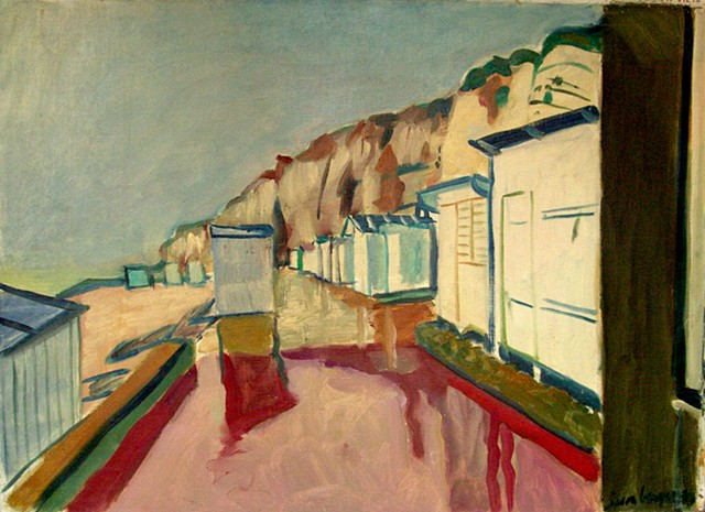 Beach at Veulettes - 2000