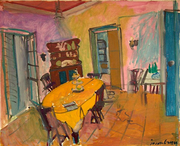Dining Room in Cavoeiro, 1988