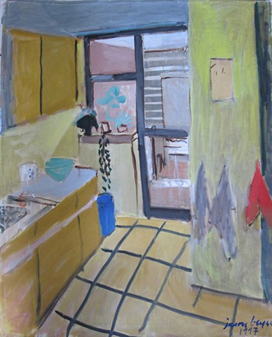 Kitchen ,Lisbon  1997   28x38