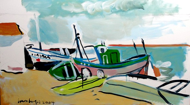 Boats on the Beach, 2004