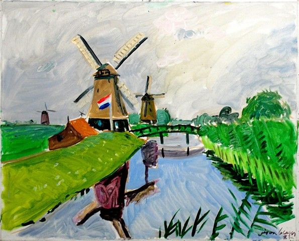 Holland Paintings