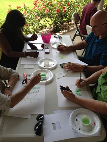 Watercolor and Technology workshop