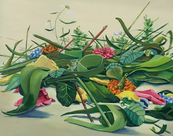 newport Beach, flowers, modernart, contemporary art, la artist, Californiapainting, painting, painting of flowers, art of california
