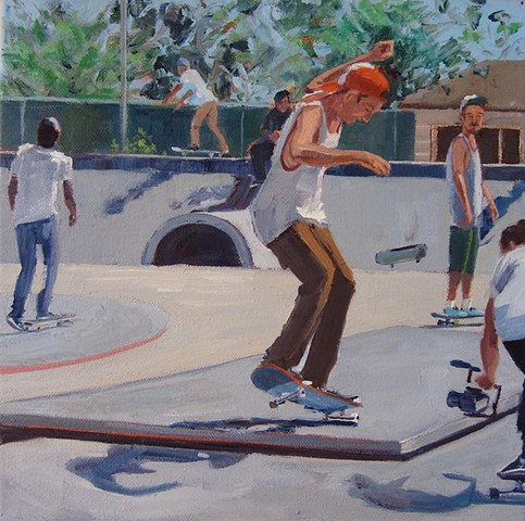 thrasher, skater, skateboarding, skatepark, dogtown, mobile Home art, California, Surfrider, #malibu, malibu mobile home, #california coast, #beach architecture