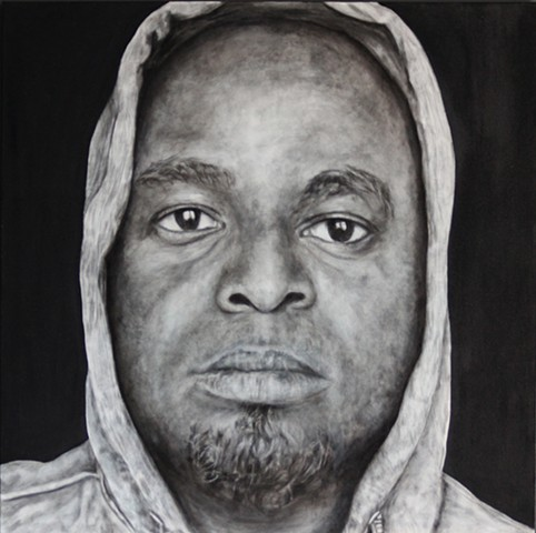 """In The Hood - Portraits of African American Professionals Wearing a Hoodie"""