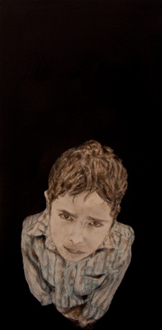 """Boy from New Delhi"" is part of my "" Longing series ""."