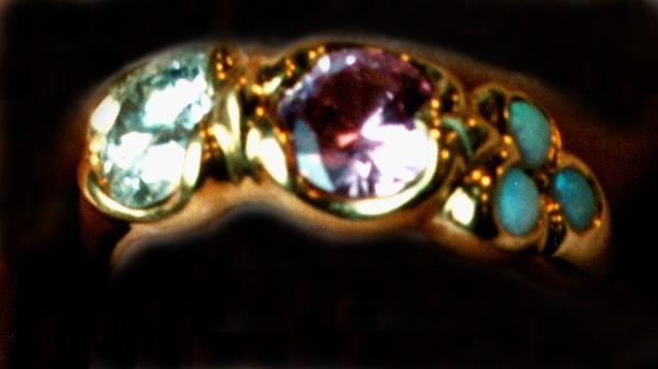 Diamond, Opal and Kunzite