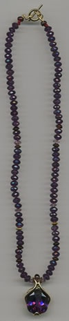 Amethyst and 18kt. Gold