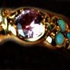 Diamond Opal  Kunzite 18kt. Gold
