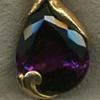 Amethyst  Garnet   24kt. Gold
