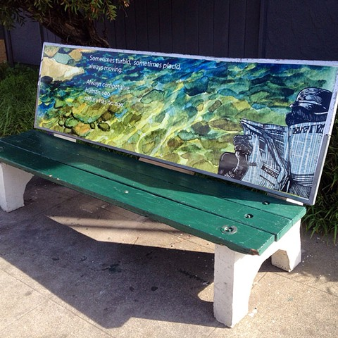 Bench Project : the river has no ego