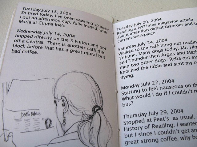 The Coffee Diary book detail