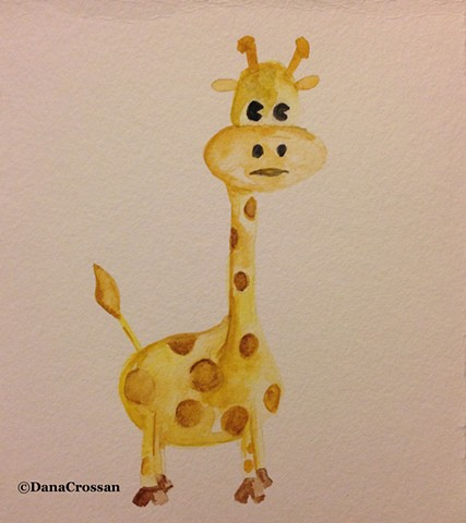 Long Neck Giraffe