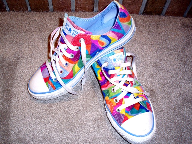 Custom Converse Chuck Taylor All Stars by Theresa Pawlan, Resa Pawlan