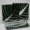 Dark Green Leaf Dishes
