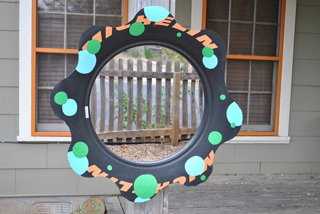 "18"" Tire Mirror"
