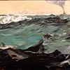 Winslow Homer's The Gulf Stream (detail 1)