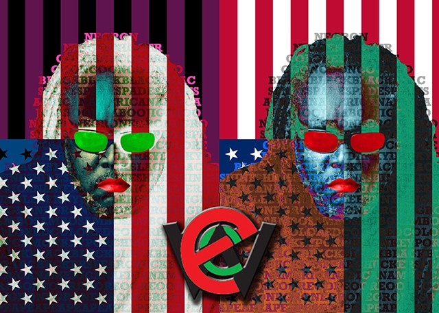 Everett C. Williams - Op/PopArt/PhotoPortraits/Social/Collage