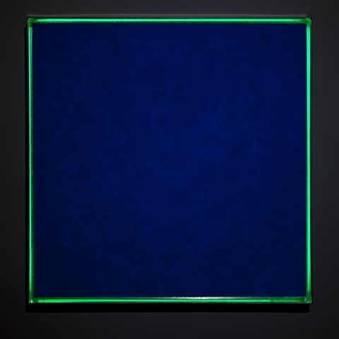 cobalt blue halo (night view)