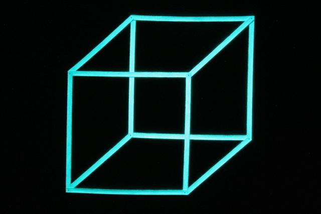 necker's cube (night view)