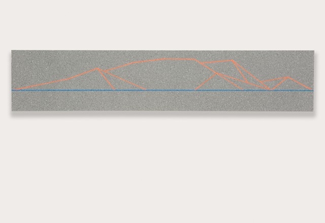 mountain study (N7 neutral gray)