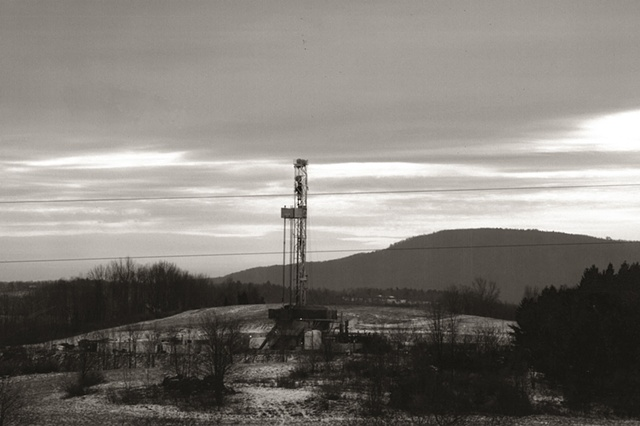 a series of photographs documenting the changing landscape of central Pennsylvania and the impact of the fracture mining of the Marcellus Shale