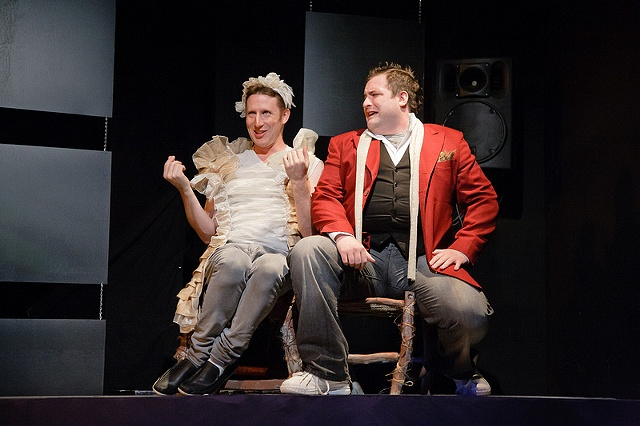 Dan Crane and Matt Dewberry as Lola and Pale Male