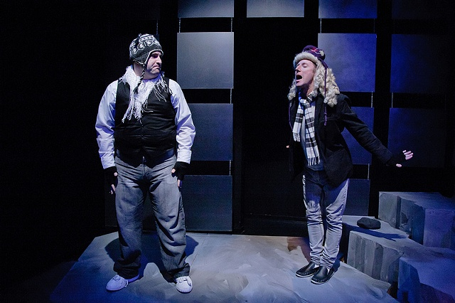Dan Crane and Matt Dewberry as Silo and Roy