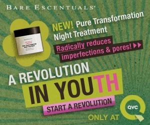 """QVC / Bare Escentuals  """"Revolution"""" Flash Banner Ad Campaign"""