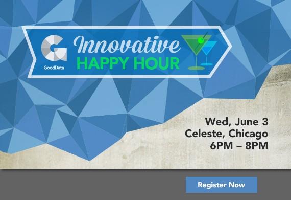 Event Logo + Website + Emails for Innovative Happy Hour