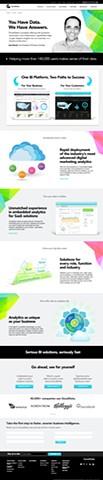 Website refresh  Client: GoodData 2014
