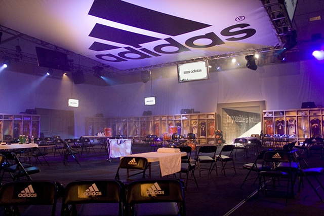 adidas Q3'07 Sales Meeting  Design of event graphics and collateral materials  (Photograph by Scott Huber of AgencyAspen.com)