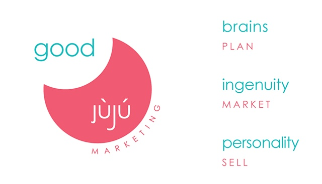 Logo  Design of logo and business cards for Good Juju Marketing