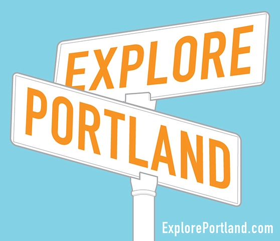 Logo Design  for Explore Portland.com