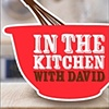 QVC / In The Kitchen With David  iPhone App - Splash, Home and Product screens
