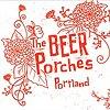 The Beer Porches postcard  Design + Illustration