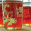 Growlers, Glasses + Card designs Logo + Illustrations  Client: The Beer Porches St. Johns + Kruger's Farm locations
