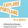 Explore Portland Rack cards  Design, Illustration and Art Direction for Website, banner ads, and collateral materials.